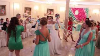 Розыгрыш букета невесты на свадьбе 12.09.15 arthall.od.ua