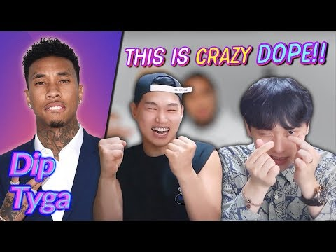 K-pop Artist Reaction Tyga - Dip ft Nicki Minaj