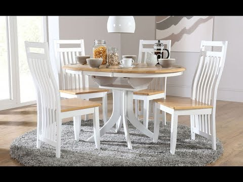 Kitchen Table And Chairs – Modern Dining Table – Oval Dining Table