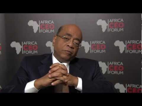 Marieme Jamme In Conversation With Mo Ibrahim