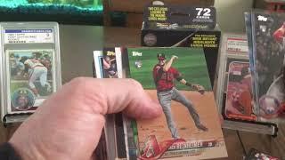 2018 Topps Baseball series 1 and Update series