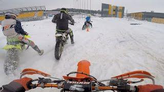 Кросс-тренировка без шипов по снегу и льду. Отчёт о работе блока переноса форсунок «Бульба Racing»