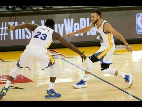 NBA PLAYOFFS -Golden State Warriors vs Portland Trail Blazers game-2