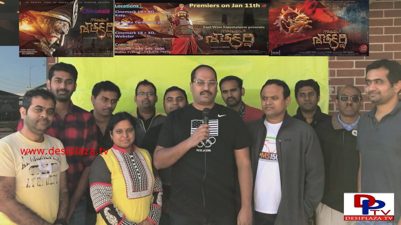 Gautamiputra Satakarni Hungama in Houston