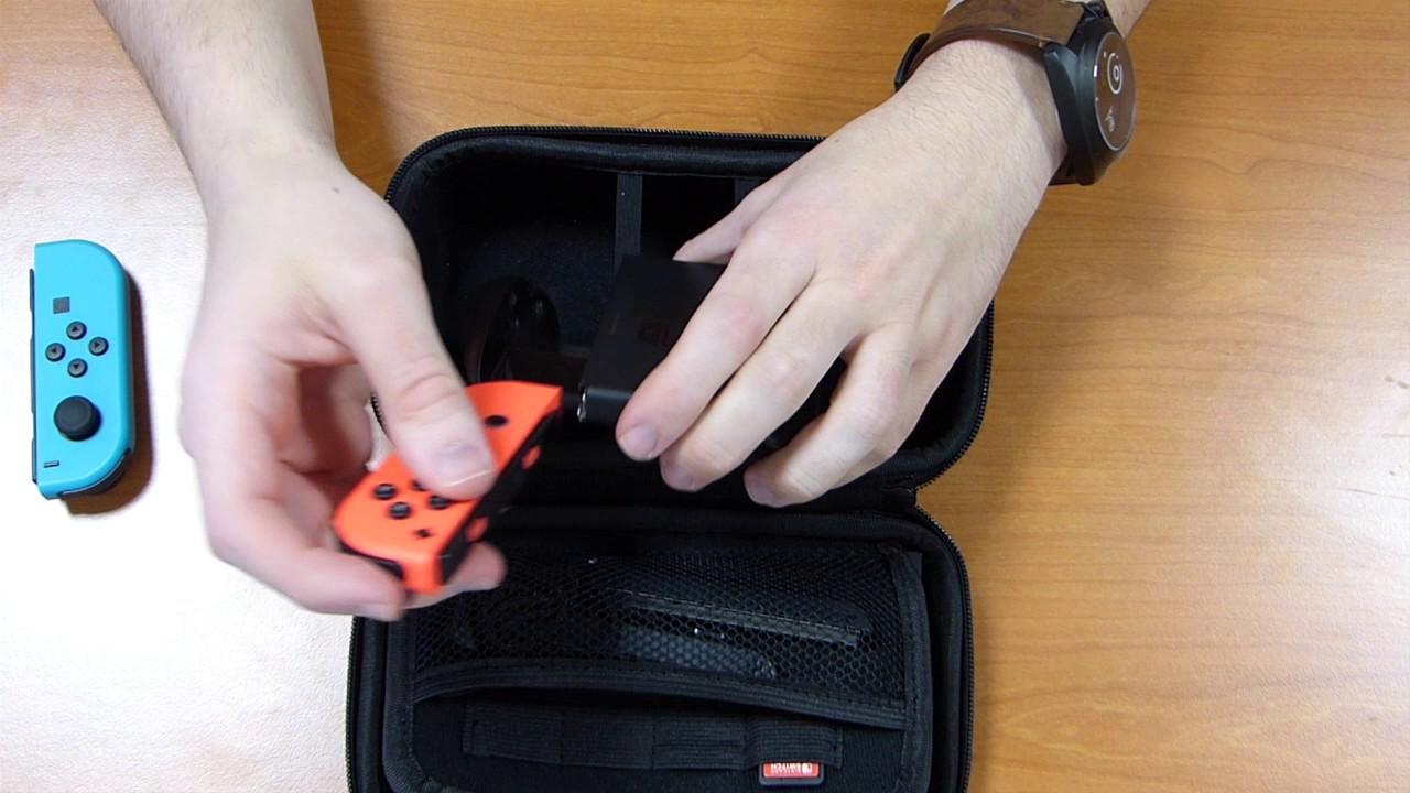 Sacoche de rangement pour nintendo switch console et for Housse nintendo switch mario