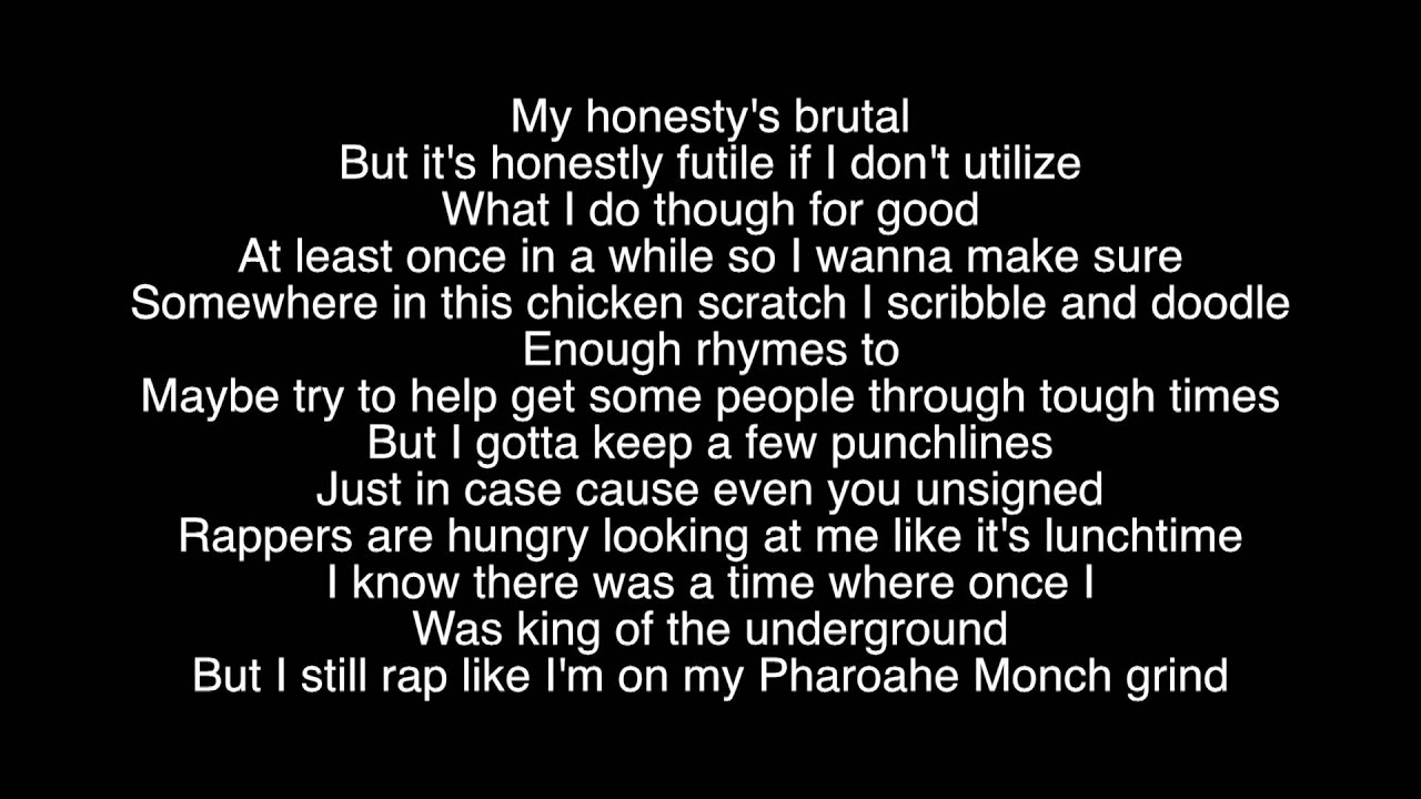 Rap God Lyrics - Eminem - YouTube