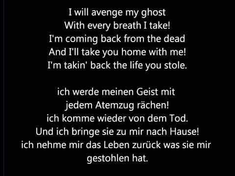My Chemical Romance Fashion Statement Lyrics+ Übersetzung