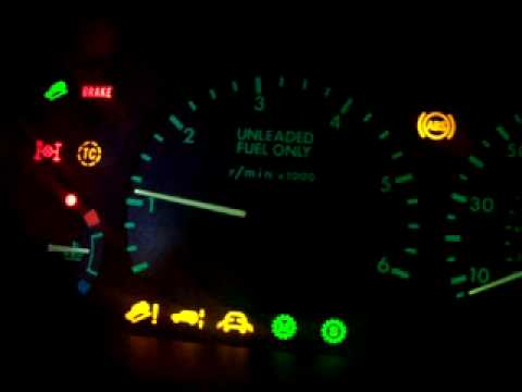Yay Land Rover Discovery 2 Warning Lights Youtube