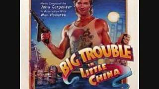 Big Trouble In Little China Soundtrack - Escape From Wing Kong