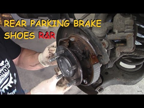 How To Replace Rear Parking Brake Shoes – Hyundai Sonata