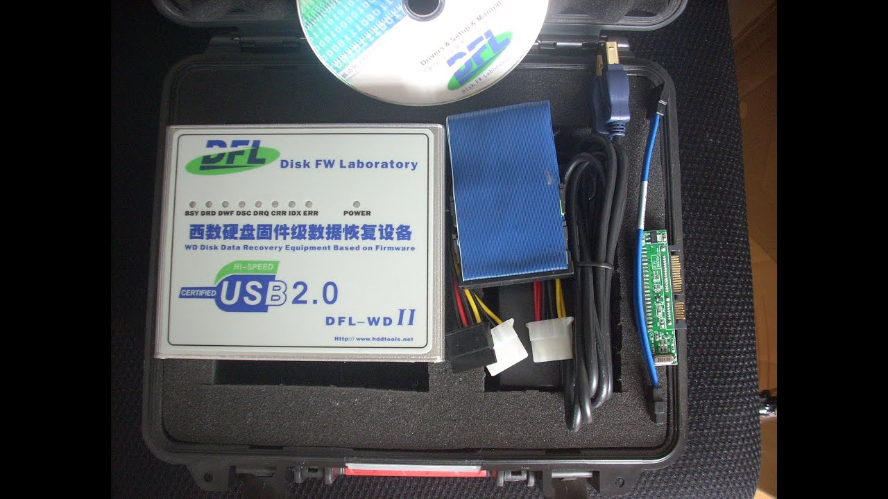 Hdd data recovery hardware tools