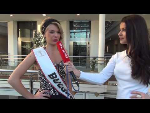 Miss Intercontinental 2015 - Miss Bulgaria Interview