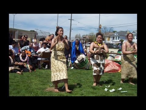 Tongan Dancers from Alaska & Sacramento perform in Oakland,