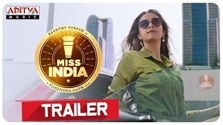 #MissIndia Trailer | Keerthy Suresh | Narendra Nath | Thaman S