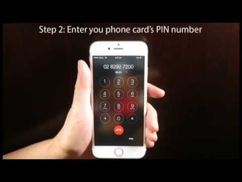 How To Use A Prepaid Phone Card