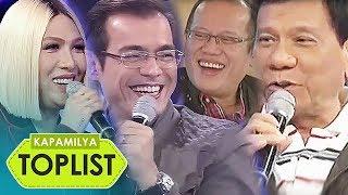 Download lagu 10 funniest and trending moments of 'politician' guests in Gandang Gabi Vice   Kapamilya Toplist