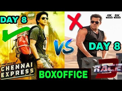 BOXOFFICE COLLECTION Race 3 vs Chennai express, Shahrukh Khan vs Salman Khan, Race 3 Collection