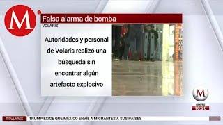 Volaris exige a SCT y AICM castigar a responsables de amenaza de bomba
