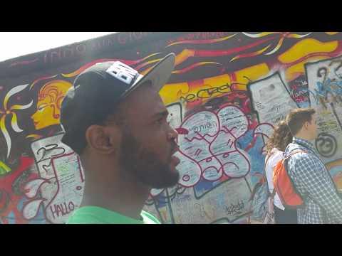 Berlin wall tour. East side gallery
