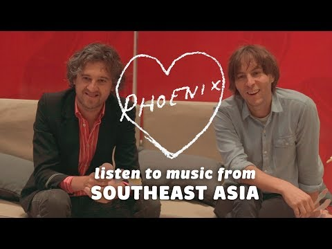 Thomas Mars & Christian Mazzalai of Phoenix react to Southeast Asian music: Bandwagon Taste-Test