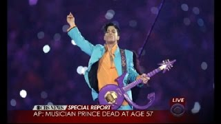 pop superstar prince dies