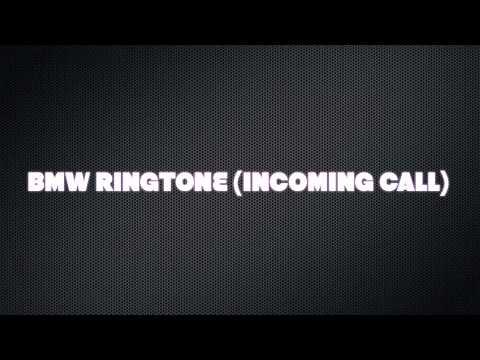 BMW RINGTONE (INCOMING CALL)