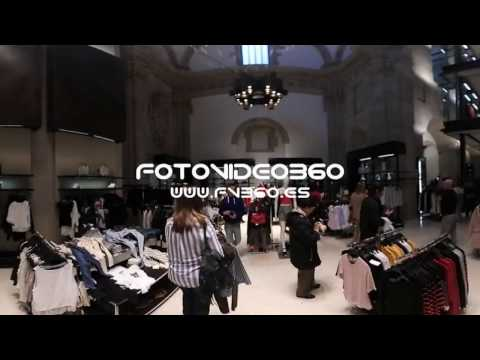 360 grados Tienda Zara Salamanca Calle Toro Plaza del Liceo 28