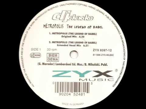 Dj Dado   Metropolis Extended Vocal Mix