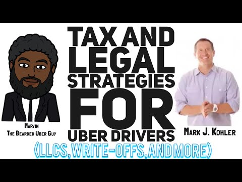 Tax & Legal Strategies For Uber Drivers From An Actual CPA|Mark J. Kohler