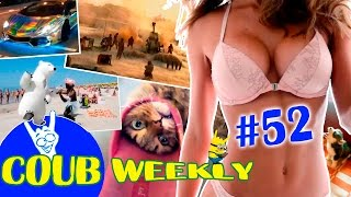 Coub Weekly # 52 Лучшее за неделю. ( Подборка коуб приколов 2016 )