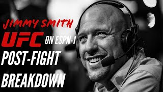 Jimmy Smith Post-fight Breakdown of UFC on ESPN 1: Cain vs Ngannou