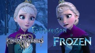 Kingdom Hearts 3 vs Frozen - Let it Go Comparison thumbnail