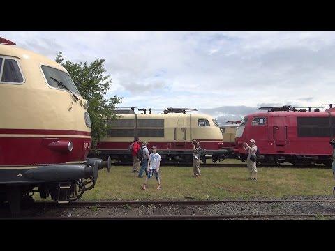 50 Jahre Br 103 | Sommerfest DB Museum Koblenz 2015 (HD)