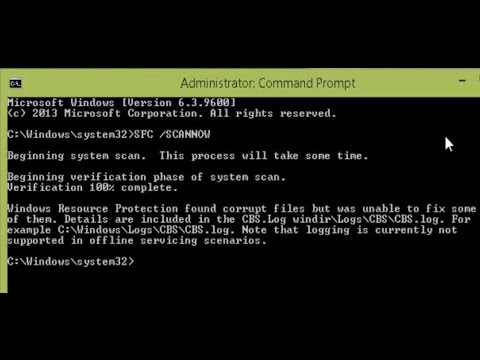 [How To] Fix : Windows Resource Protection Found Corrupt Files