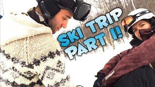 Preston Learns to Snowboard