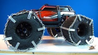 RC ADVENTURES - HEAVY METAL MEGA TRAXXAS SUMMiT!  TIRE MOD from XPRT DESiGNS