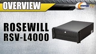 Rosewill RSV-L4000 Black Metal / Steel, 4U Rackmount Server Chassis Overview - Newegg TV