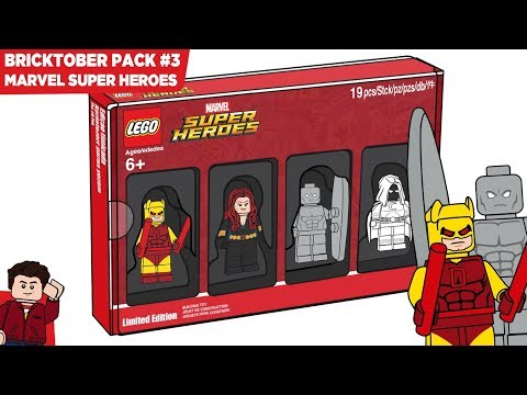 LEGO Marvel Super Heroes Custom Bricktober Pack #3