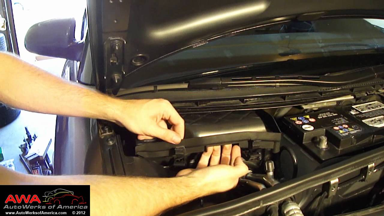 Replace Audi A4 Cabin Filter Youtube