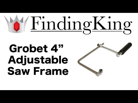 Grobet Swiss Adjustable Saw Frame For Ring Sizing & Jewelry Repair