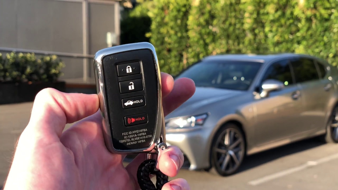 Lexus Remote Start >> How To Remote Start Any 2015 Lexus Using The Keyfob
