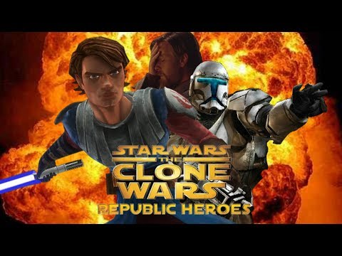 [ОБЗОР] STAR WARS THE CLONE WARS REPUBLIC HEROES