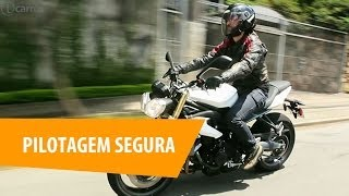 Aprenda a pilotar sua moto com segurança