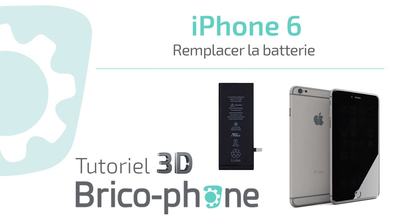 tuto iphone 6 comment changer la batterie d montage remontage hd 3d youtube. Black Bedroom Furniture Sets. Home Design Ideas