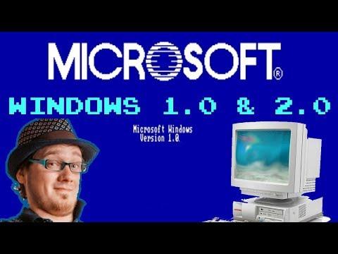Самая первая Windows. Ставим Win 1.0 и 2.0. Ни без фэйлов и психов