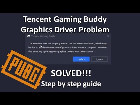 Graphics Driver Problem On Tencent Gaming Buddy Solution | Step By Step Guide