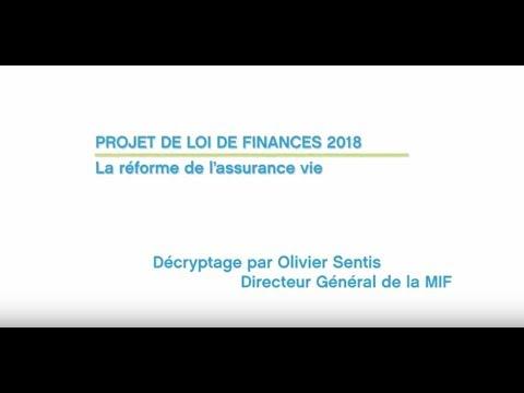Projet de réforme de l'assurance vie