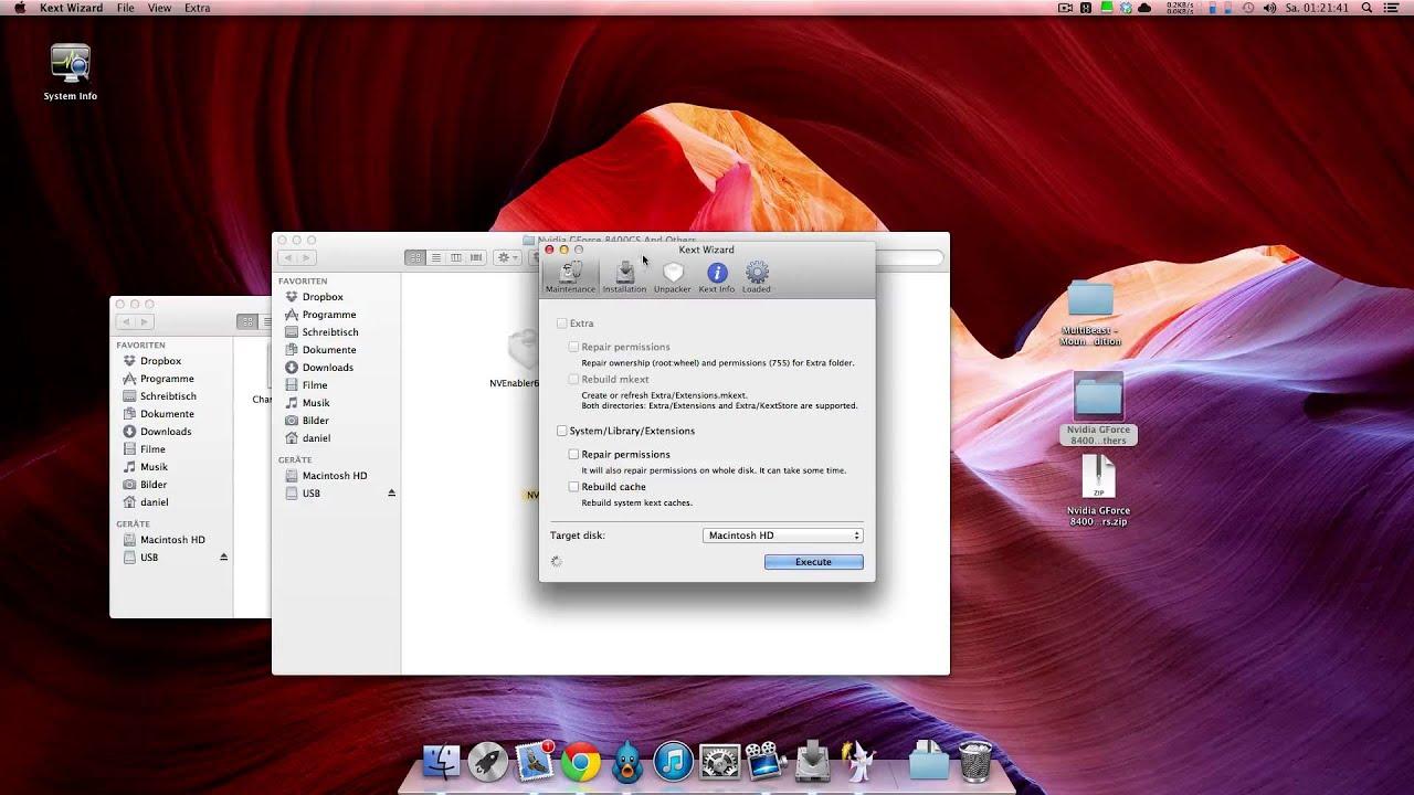 Installation von OS X Mountain Lion 10 8 auf einem PC - Hackintosh