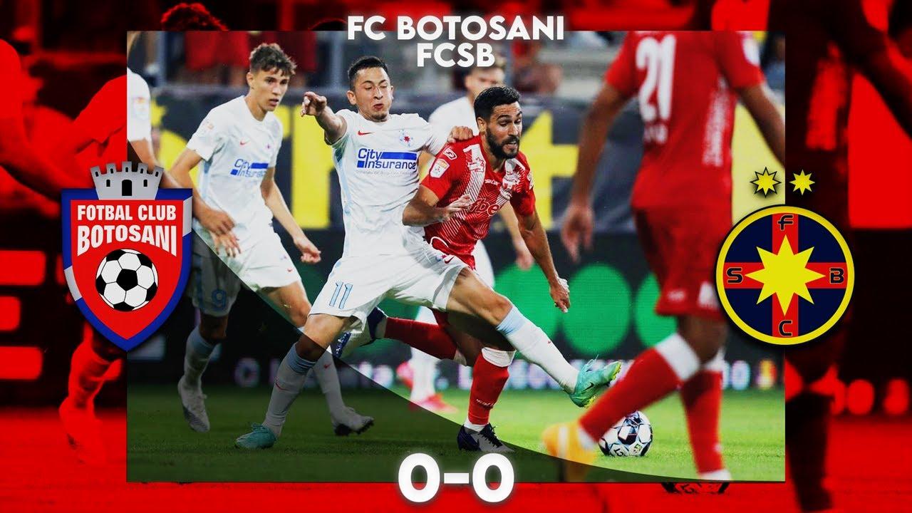 REZUMAT| FC Botoșani - FCSB 0-0. Florin Tănase a ratat un penalty