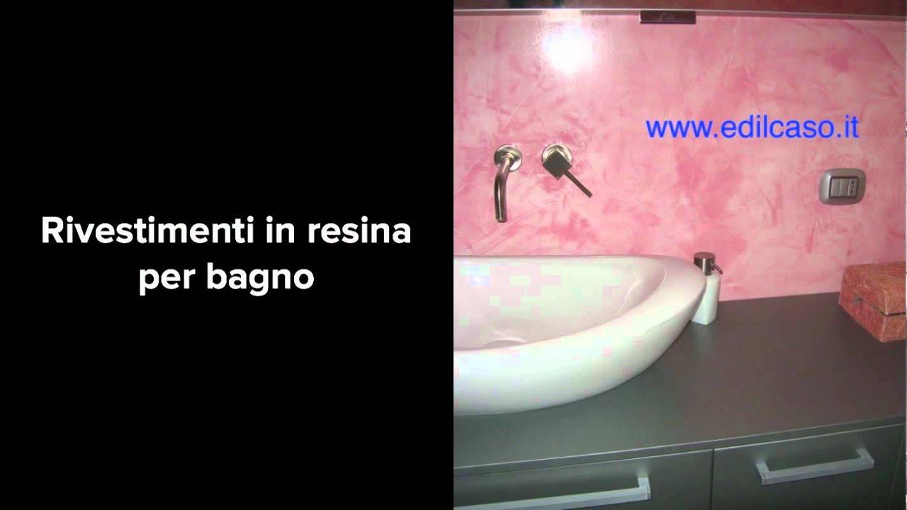 Pavimenti e rivestimenti in resina per youtube - Rivestimenti bagno resina ...